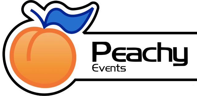 Peachy Events Logo